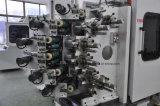 Machine à imprimer en tôle en plastique à six couleurs incliné