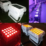 20X12W RGBW 4in1の防水同価は段階のためのLEDライトできる