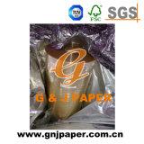 Papel transparente de calidad superior del celofán de tamaño del carrete