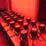 Equipamento Stage 54X3W RGBW do disco do DJ DMX Iluminação LED PAR