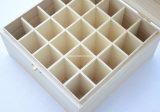Insignia de encargo rectángulos de empaquetado de madera del petróleo esencial de 25 paquetes
