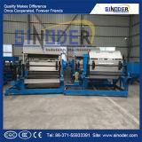 Altpapier-Massen-Formteil und Ei-Tellersegment-Ei-Karton, der das Maschinen-/Fruit-Tellersegment herstellt Maschine bildet