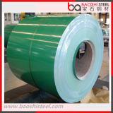 La bobine en acier de PPGI/a enduit la bobine d'une première couche de peinture en acier pour la tuile de toit