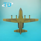 1: 100 Lockheed C-130 Hercules aeronaves do modelo Militar