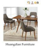 Jantando a cadeira de couro do restaurante de Upholstery do plutônio da mobília (HD702)