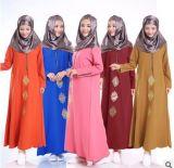 La meilleure vente Turquie élégante faite sur commande vêtx la robe d'usager pour des femmes