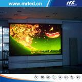 Aranha inteligente interna da tela de indicador P2.84mm do diodo emissor de luz de Mrled com IP31