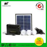 Luzes solares com carregamento do telefone para iluminação doméstica e acampamento