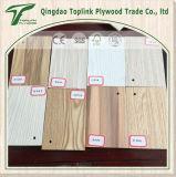 18mm ambos lados laminado melamina madera contrachapada para Muebles y Puertas