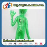 Het plastic Elastische Skelet van het Speelgoed van Halloween Vreemde
