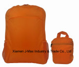 Custom Fashion Polyester Sports Laptop Foldable Backpack with Wholesale Bag