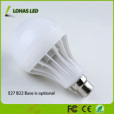 セリウムのRoHS中国の製造業者が付いている省エネのプラスチックLED球根3W 5W 7W 9W 12W 15W 18W LEDの電球