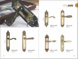 Bloqueio de maçaneta de porta de bronze antigo de estilo antigo 2016 (GM502-G01GPB)