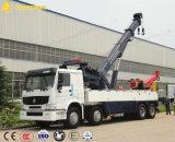 Camion de remorquage de dépanneuse de tonne de /50 de camion de reprise de route de HOWO