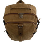 Мужские холст для тяжелого режима работы в рюкзак с повышенной емкости для путешествий