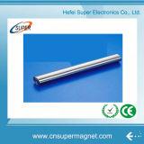 Ímãs de barra fortes do Neodymium do revestimento N52 25*300mm niquelar