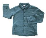 안쪽과 누비질 효력을 덧대기를 가진 소년을%s 보통 재킷