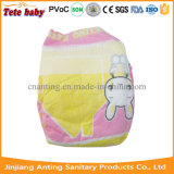 Bonne couche-culotte choyée de bébé avec l'OEM respirable de vente en gros de couche-culotte de bébé de bande magique
