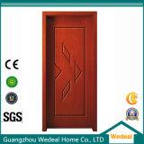 Personalize PVC laminado MDF HDF porta de madeira maciça