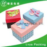 Rectángulo de papel de empaquetado de la venta del regalo de encargo de múltiples funciones caliente de la alta calidad