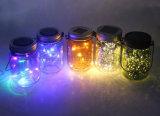 2017 Popular el parpadeo de Material de vidrio esmerilado LED Solar lámpara de jardín