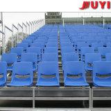 공장 가격 학교 축구 축구 게임 정면 관람석 분해 가능한 스포츠 장비 플라스틱은 반대로 UV 강철 Bleachers에 자리를 준다