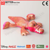 중국 싼 연약한 견면 벨벳 동물성 장난감은 악어 장난감을 채웠다