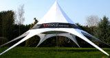Tenda a forma di stella della stella di Red Bull della tenda