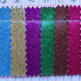 Foiled Glitter PU Leather para caixa de jóias Decoração Hw-864