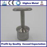 Inferriata e balaustra dell'acciaio inossidabile di sostegno del tubo