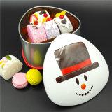 Caixa da caixa do biscoito do ferro/Tinplate da decoração (T001-V21)