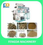 5-20 machines animales de traitement d'alimentation de boulette de t/h pour le cylindre réchauffeur de volaille et de bétail