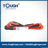 Fibra 100% resistente de Uhwmpe da corda da corda sintética do guincho Orange10mmx28m4X4