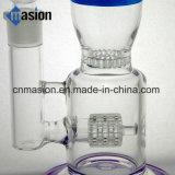 Tubo que fuma de cristal del tazón de fuente de cristal de la cera (BY006)