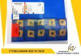 Korloy Cnmg160608-Hm  Nc3020 Pieza inserta que muele para la pieza inserta del carburo de la herramienta que muele