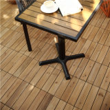 屋外のもみの木製のデッキのタイルをかみ合わせる工場価格の高品質DIY