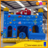 PVC Inflatable Undersea Amusement Park Bouncer jouet (AQ708-4)