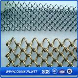 Frontière de sécurité de maillon de chaîne de PVC de qualité à vendre