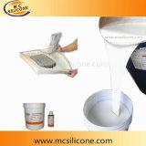 Dos componentes de alta resistencia del molde de goma flexible de silicona