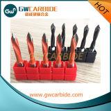 Morceaux en bois solides de couteau de morceaux ennuyeux de charnière de carbure