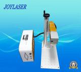 플라스틱을%s 소형 유형 휴대용 섬유 Laser 표하기 기계