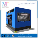 Impresora UV LED pequeña, de superficie plana Máquina A3 Tamaño impresora digital de alguna Hard Materials, con cinco colores y alta resolución