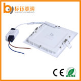Wärmen/reines/kühles weißes dünnes Panel-Lampen-Licht der Decken-ultra dünnes 6W LED