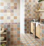 azulejo brillante de cerámica esmaltado 6D-Inkjet de la pared para de interior casero (6916)