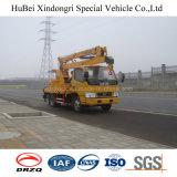 camion di volta Euro5 della piattaforma di funzionamento del braccio di 12m alto con buona qualità