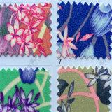 Plutônio floral Hw-654 de couro de Upholstery do Glitter