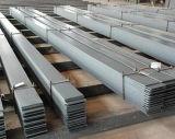 Tailles en aluminium de barre plate d'acier doux de fer