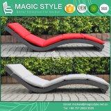 Для использования вне помещений солнечная терраса с видом на сад Sunlounger подушки для объединения в стек плетеной шезлонги плетеной кушеткой для отдыхающих Wiker Sun гостеприимной атмосферой (Magic Style)