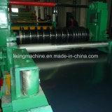Acero de alta velocidad que raja la línea de corte surtidor de la máquina