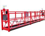 Ce Zlp150 de l'acier plate-forme de station d'accès d'échafaudages suspendus gondole